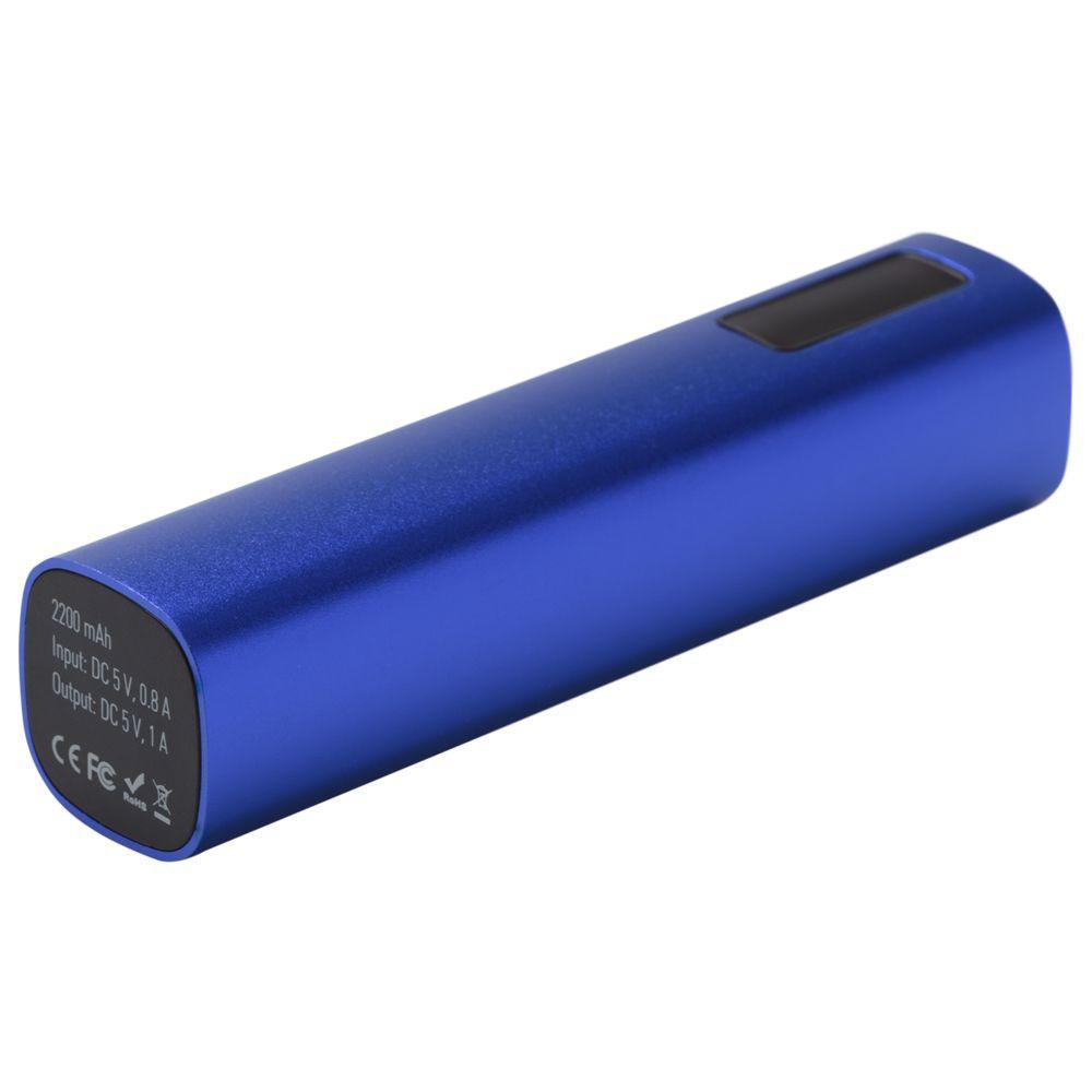 Внешний аккумулятор Easy Metal 2200 мАч, синий