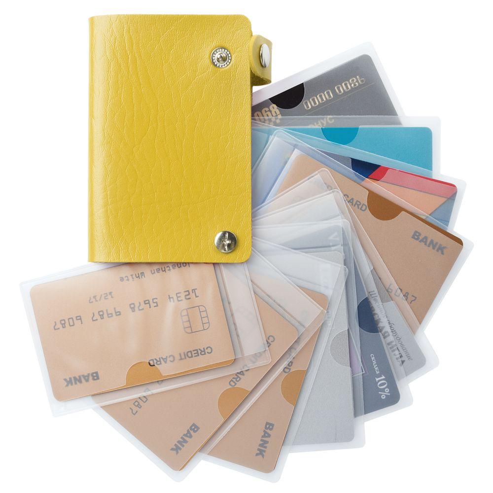Футляр для карточек Top, желтый