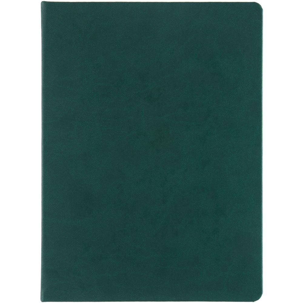 Блокнот Butterfly, в линейку, белый с зеленым