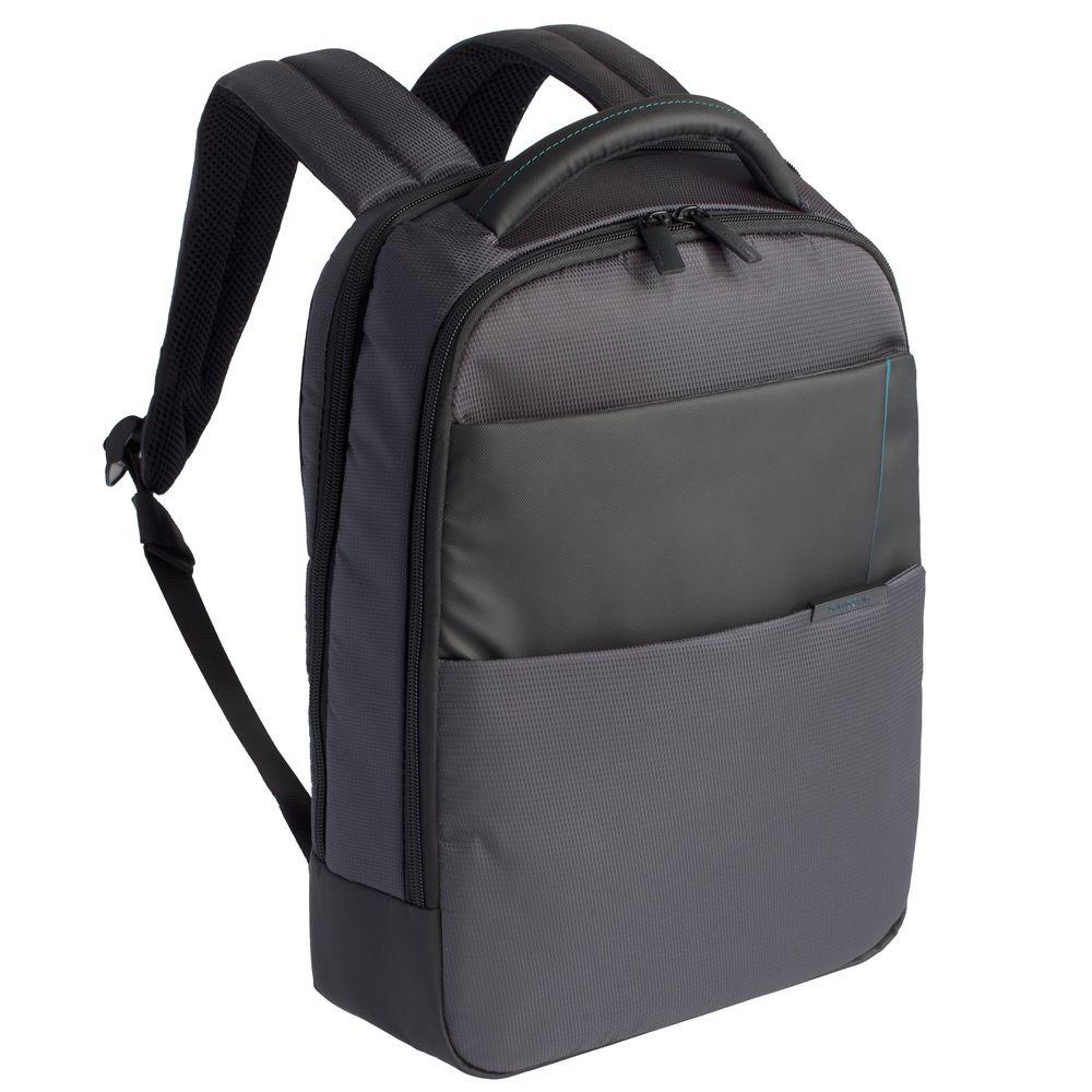 Рюкзак для ноутбука Qibyte Laptop Backpack, темно-серый с черными вставками