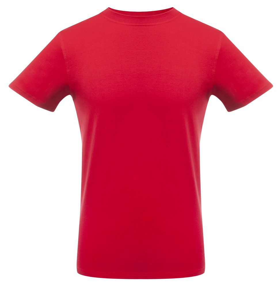 Футболка мужская T-bolka Stretch, темно-красная
