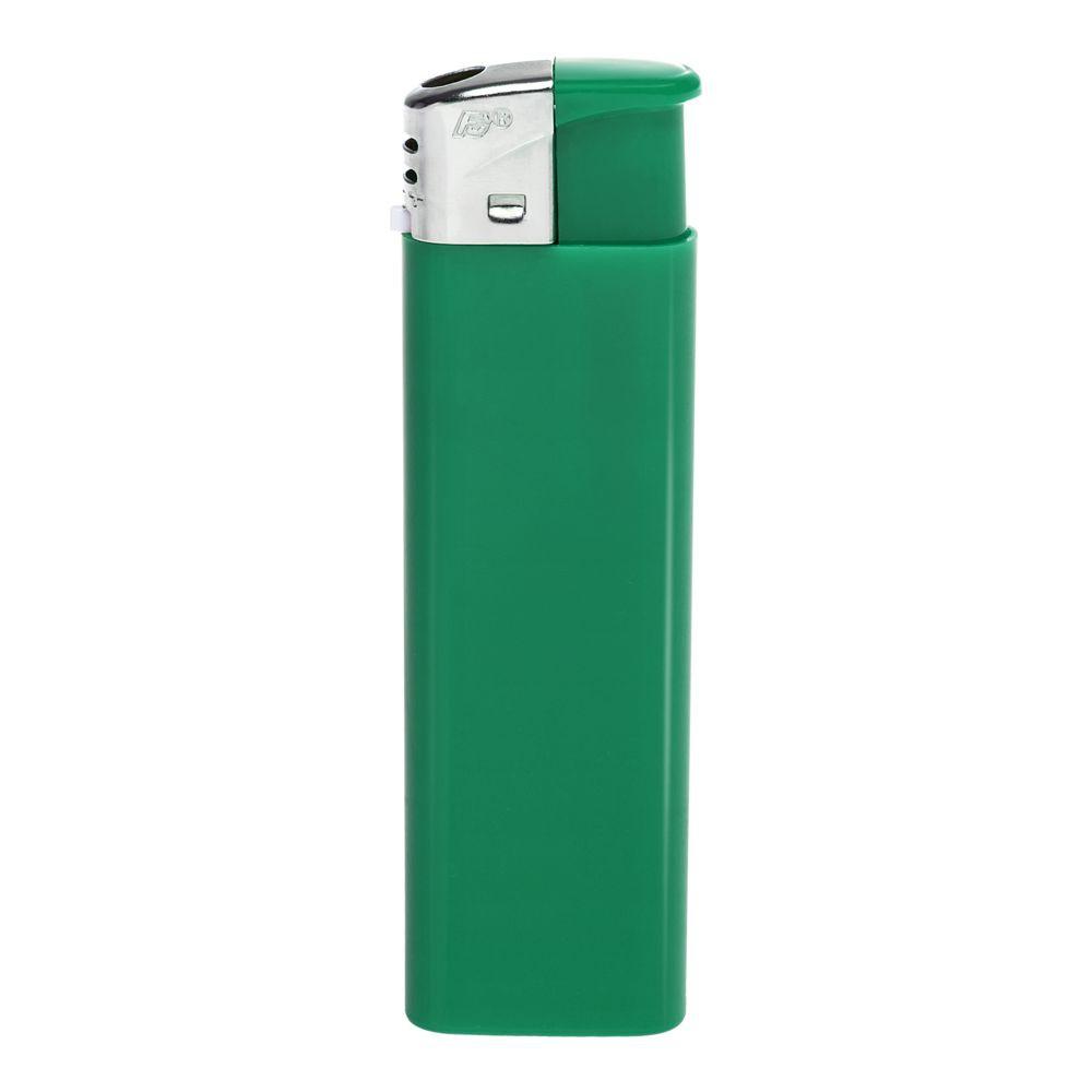 Зажигалка пьезо FLAMECLUB, одноразовая, зеленая