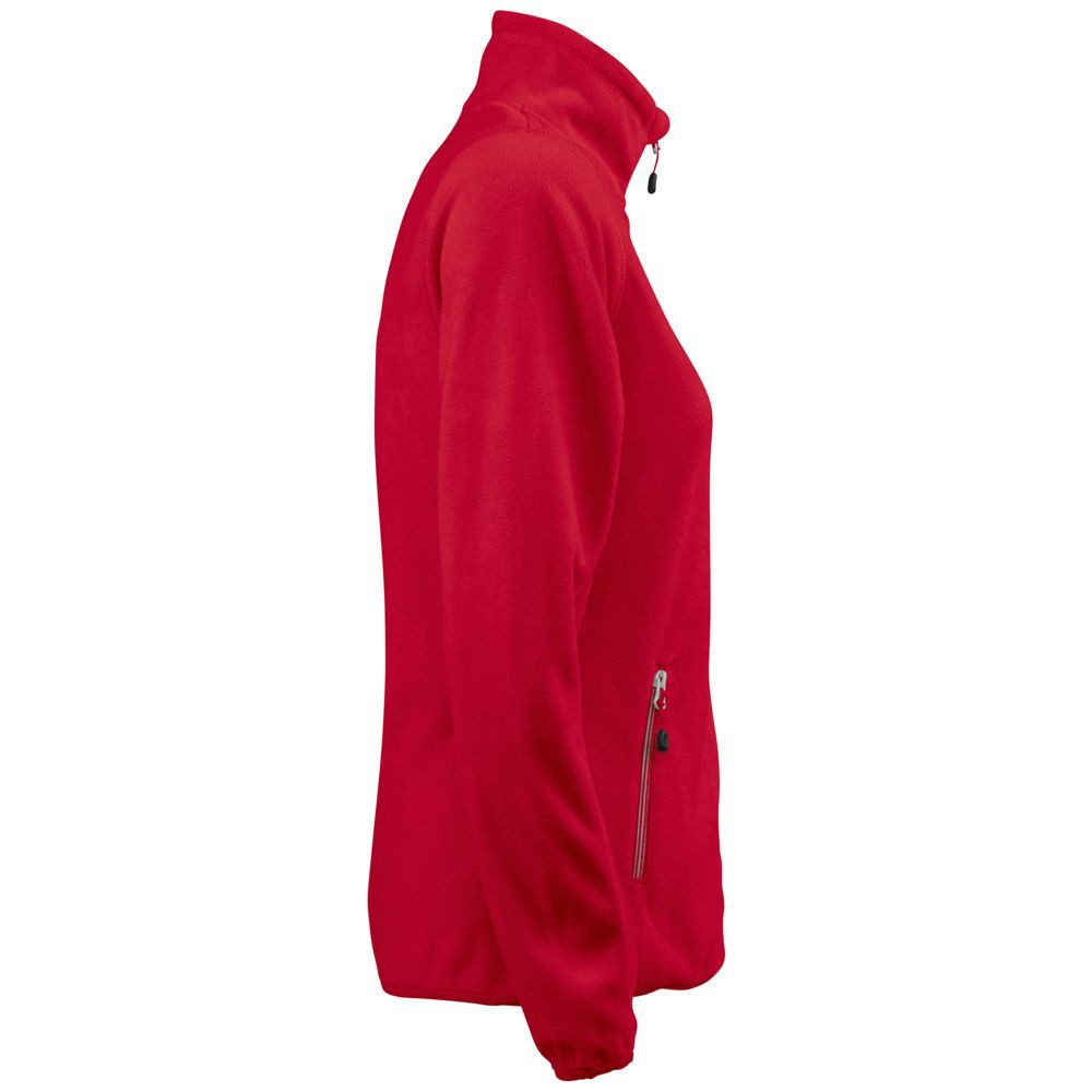 Куртка флисовая женская TWOHAND красная