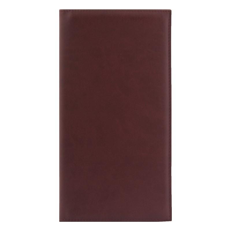 РАСПРОДАЖА Визитница Velvet, 130х240 мм, 72 карты, коричневый, N