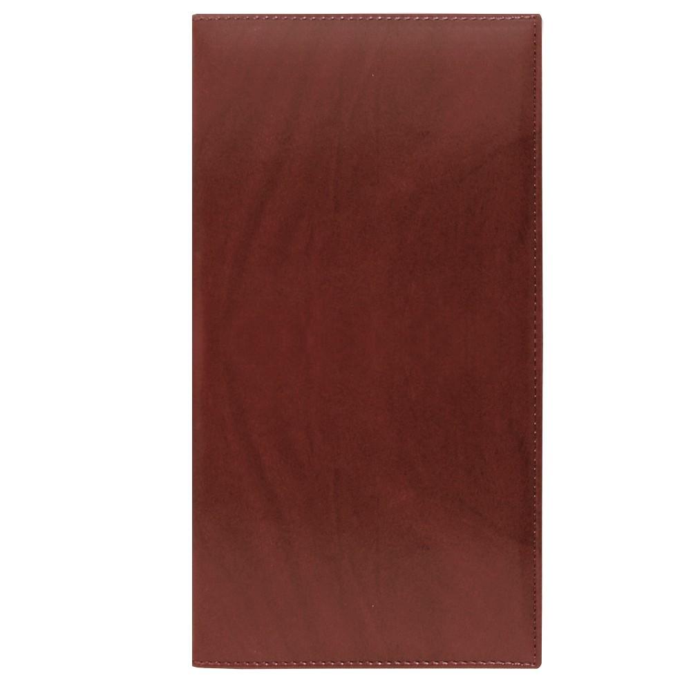 РАСПРОДАЖА Визитница Reina, 130х240 мм, 72 карты, коричневый, N