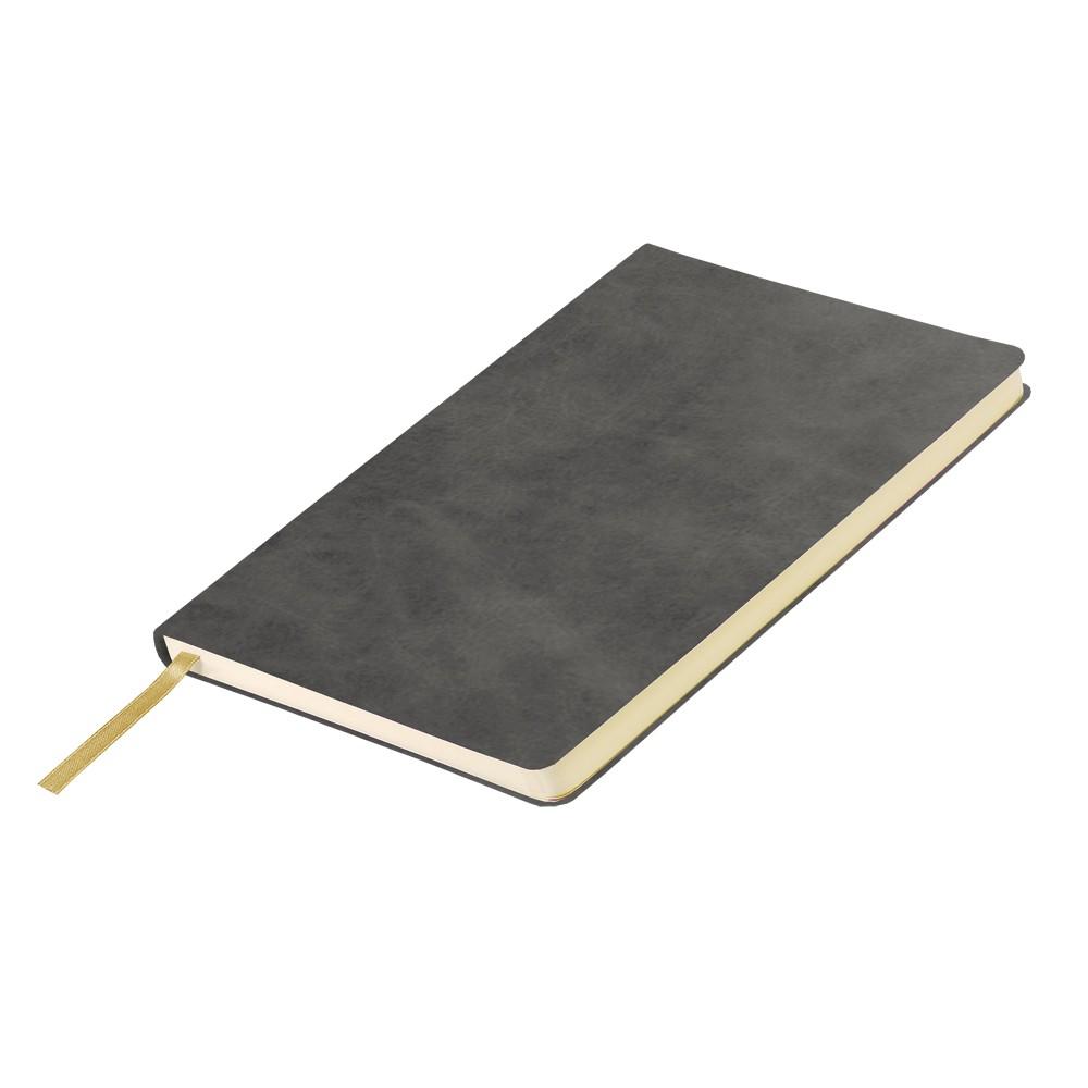 Ежедневник недатированный, Portobello Trend, Vegas City, 145х210, 224 стр, серый