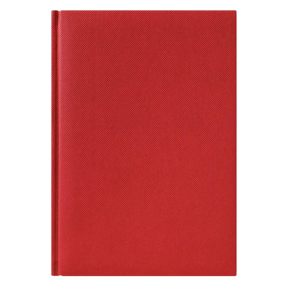 Ежедневник недатированный City Canyon 145х205 мм, красный