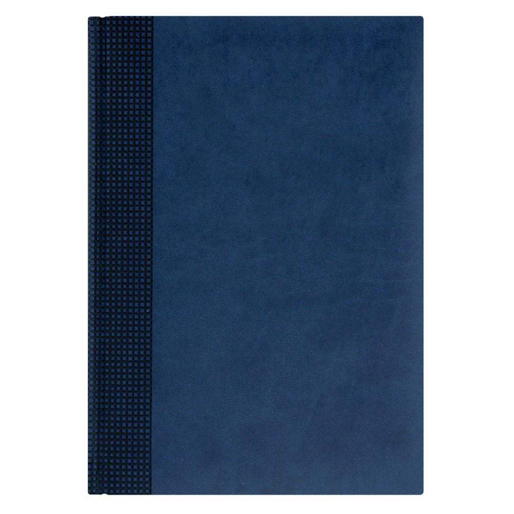 Недатированный ежедневник VELVET 650U (5451) 145x205 мм синий