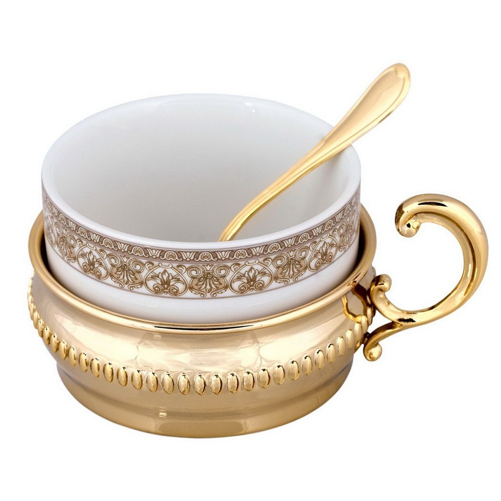 Чайный сервиз «Император» с золочением