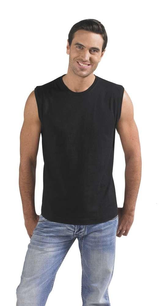 Футболка мужская без рукавов JAZZY 170, черная