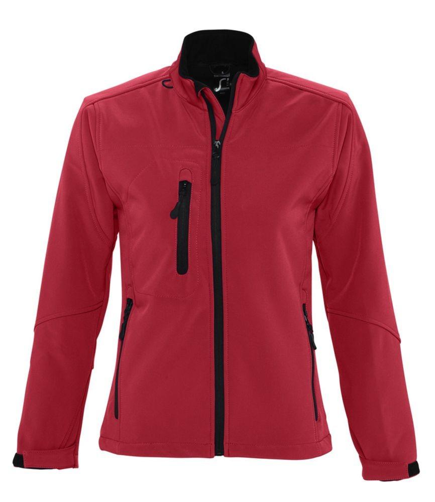 Куртка женская на молнии ROXY 340 красная