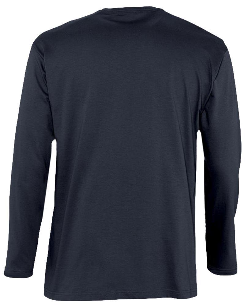 Футболка с длинным рукавом MONARCH 150, темно-синяя (navy)