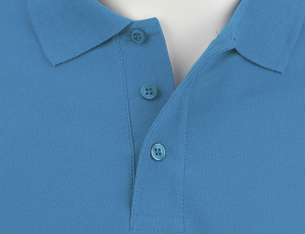 Рубашка поло мужская SUMMER 170, ярко-синяя (royal)