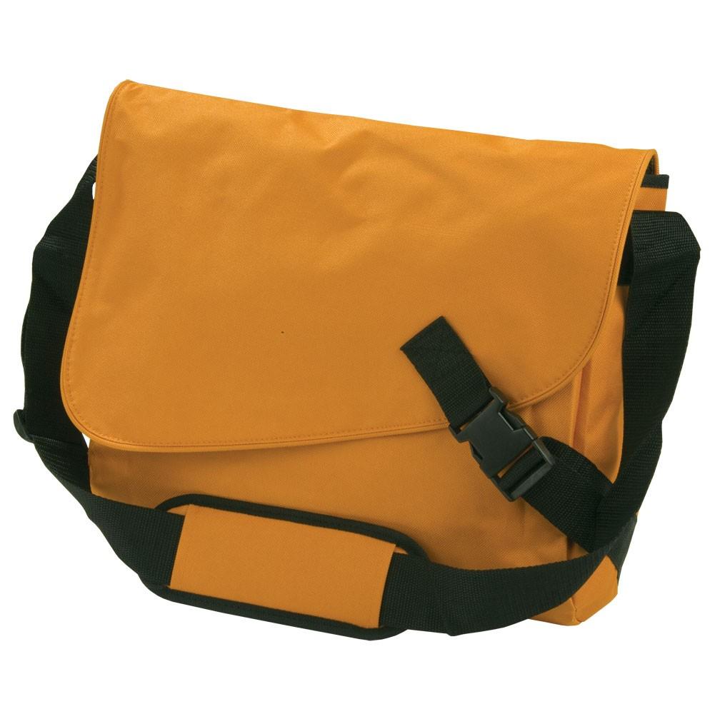 Сумка-мессенджер Clasp, оранжевая