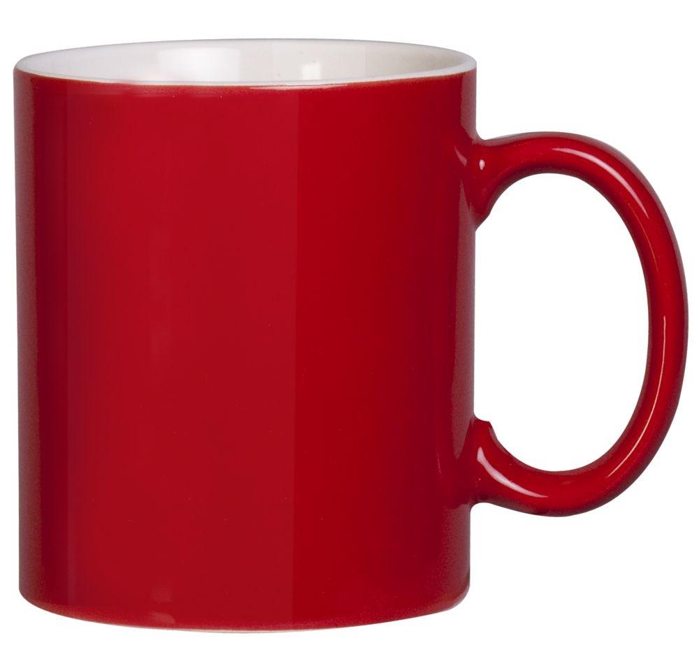 Кружка Promo, красная
