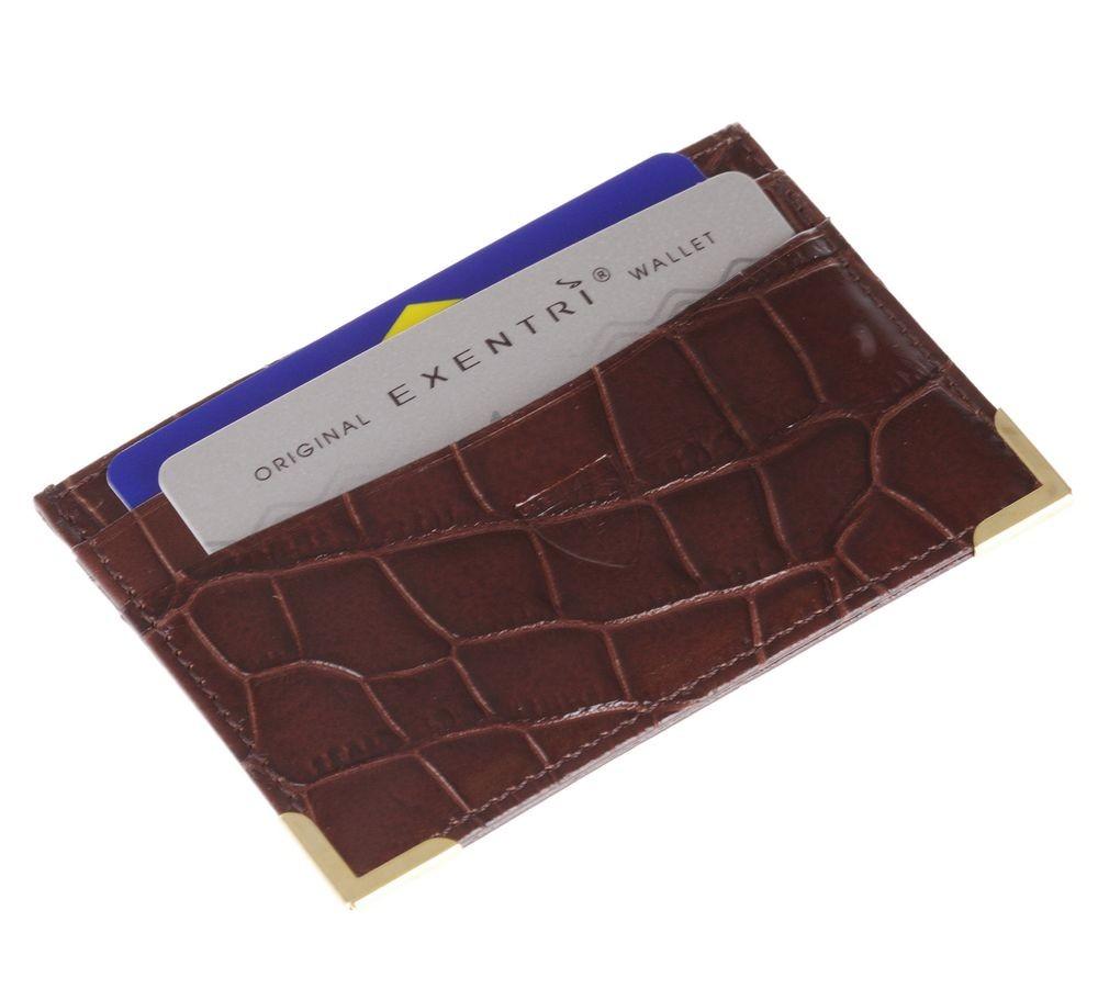 Футляр для кредитных карт Beverige, коричневый