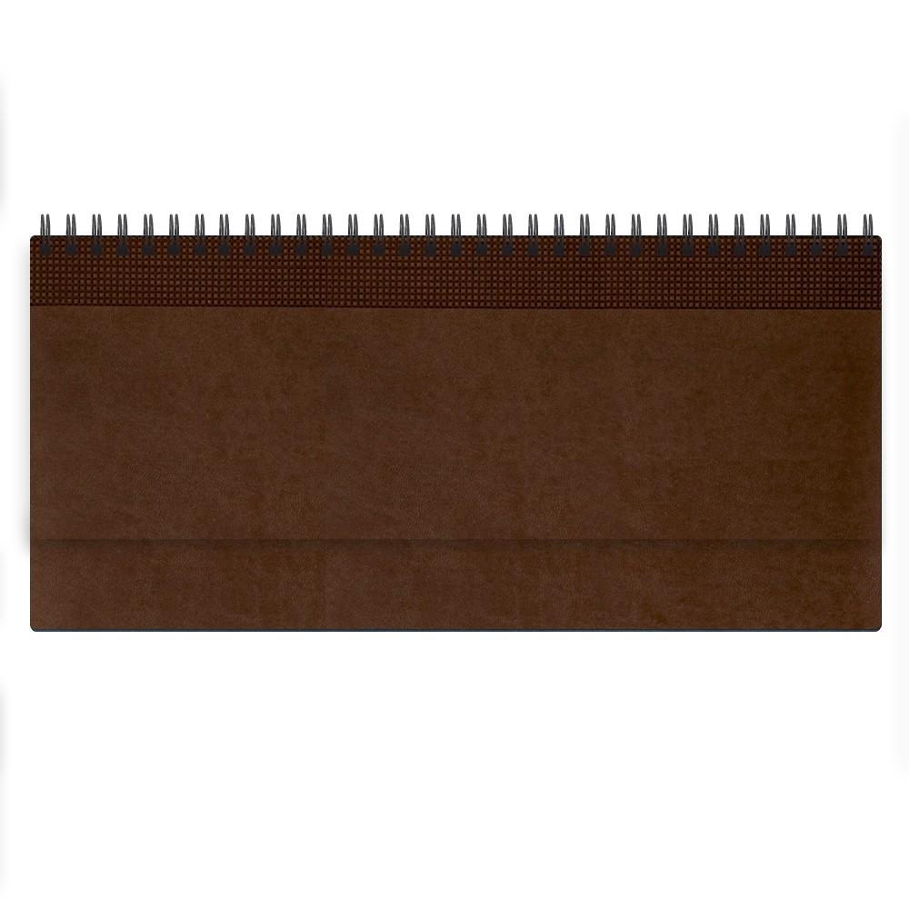Недатированный планинг VELVET 794U(5496) 298x140 мм коричневый