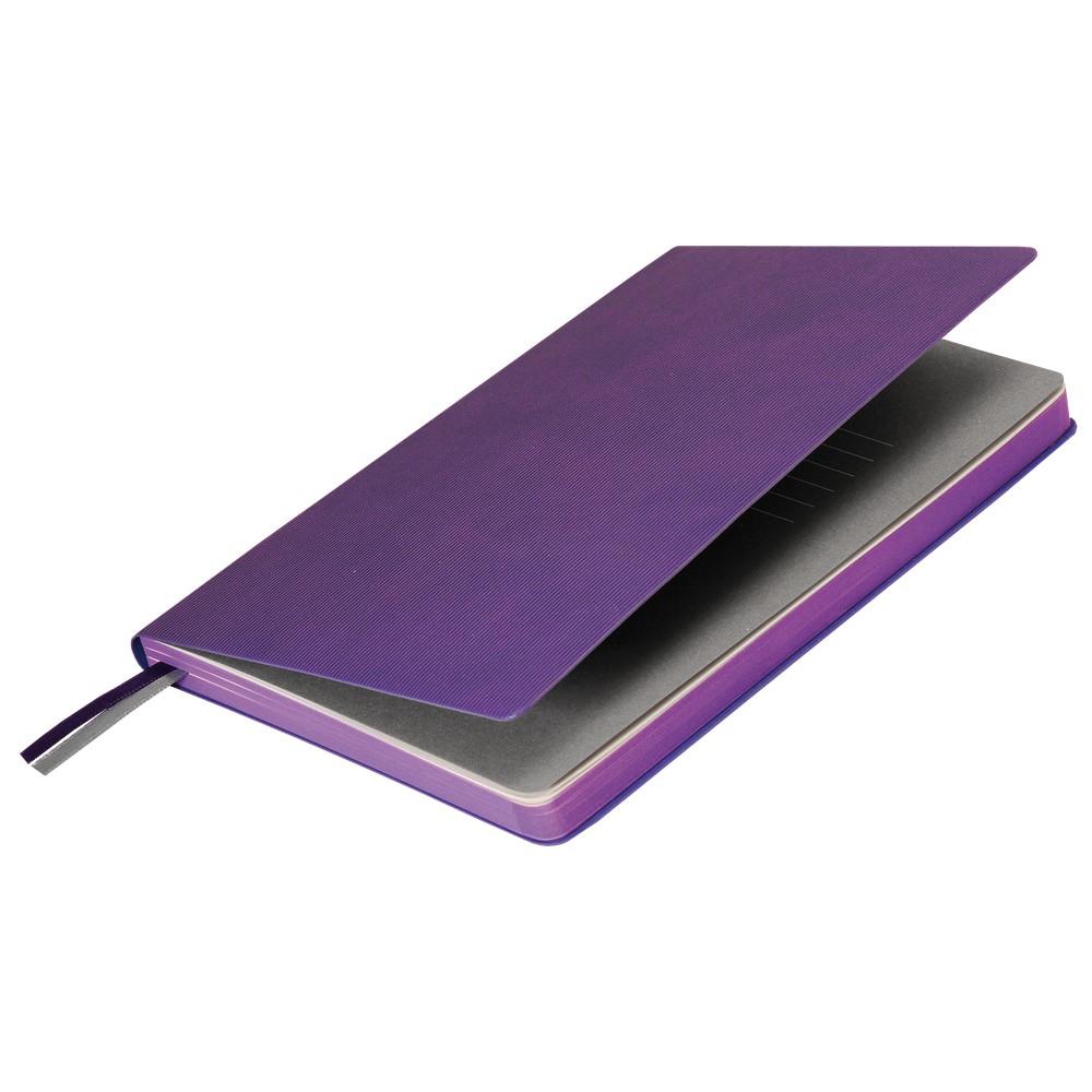 Подарочный набор Portobello/Rain фиолетовый (Ежедневник недат А5, Ручка)