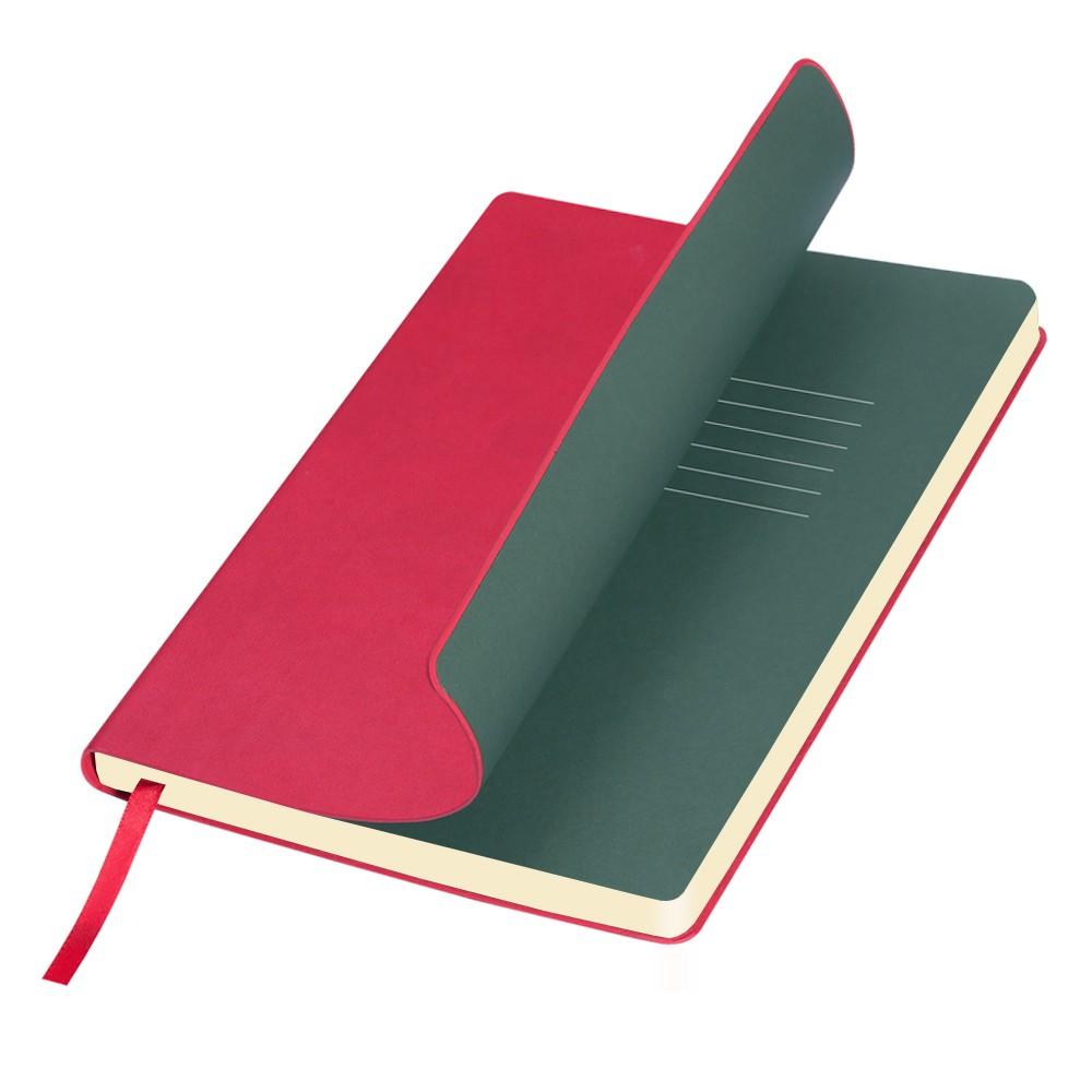 Ежедневник недатированный, Portobello Trend, Sky, 145х210, 256стр, красный(стикер,б/ленты)