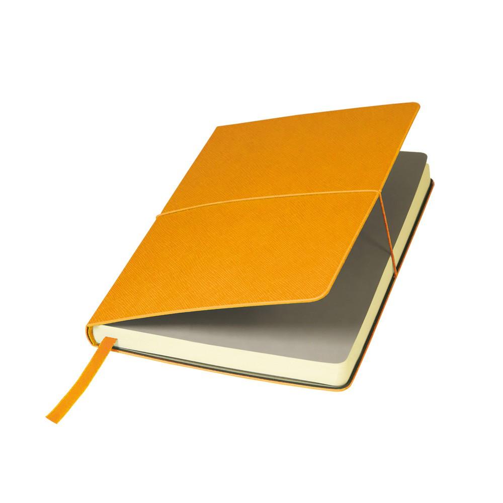 Ежедневник недатированный, Portobello Trend, Summer time, 145х210, 256стр, оранжевый (стикер, б/ленты)