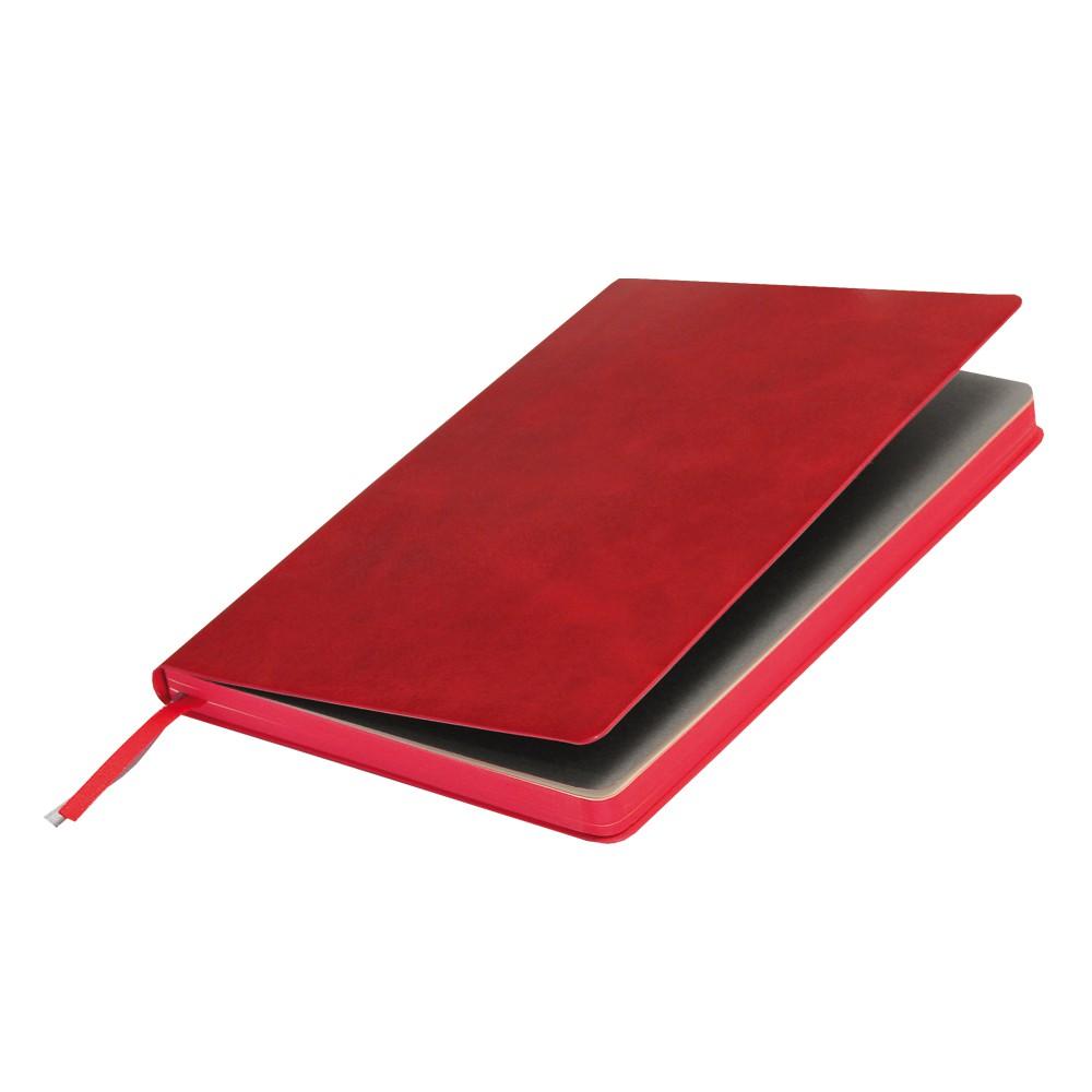 Ежедневник недатированный, Portobello Trend, Voyage, 145х210, 256 стр, красный (стикер, б/ленты)