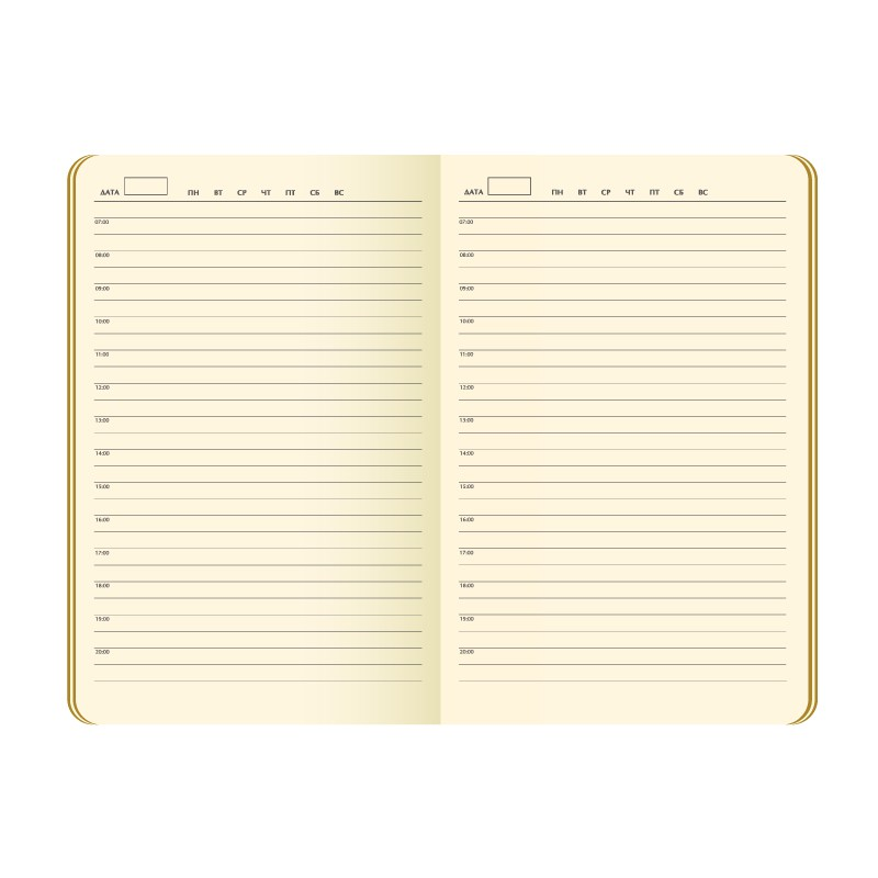 Ежедневник недатированный, Portobello Trend,Space, 145х210, 256стр, черный/оранжевый(без бум лент, стик)