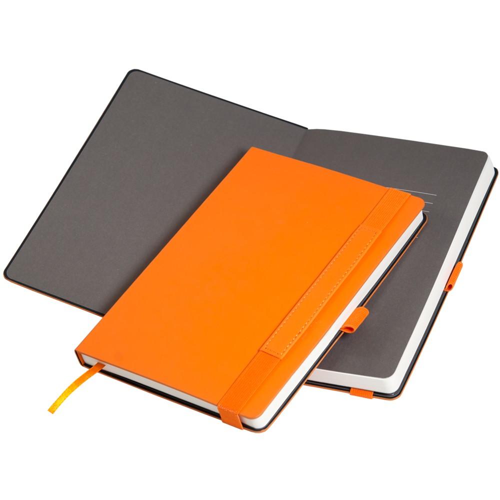 Ежедневник недатированный, Portobello Trend, Alpha, 145х210, 256 стр, оранжевый/коричневый