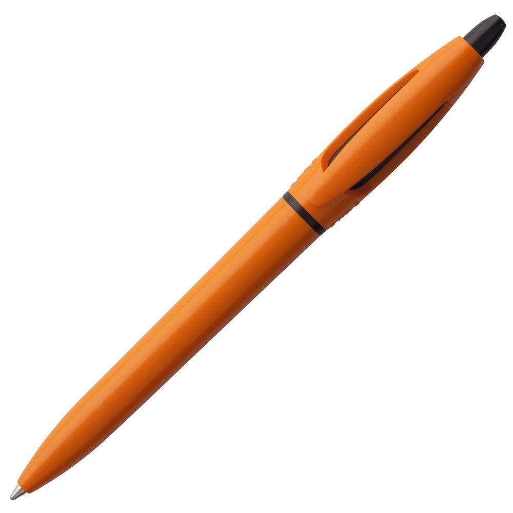 Ручка шариковая S! (Си), оранжевая