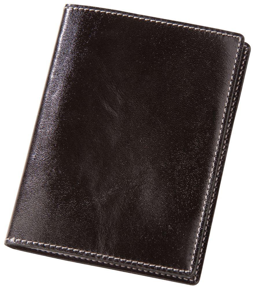 Обложка для автодокументов «Комфорт», черная