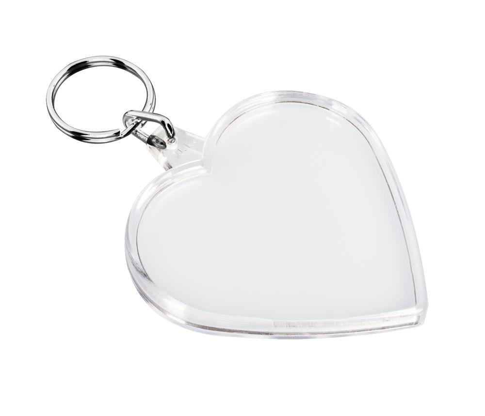Брелок «Сердце», прозрачный