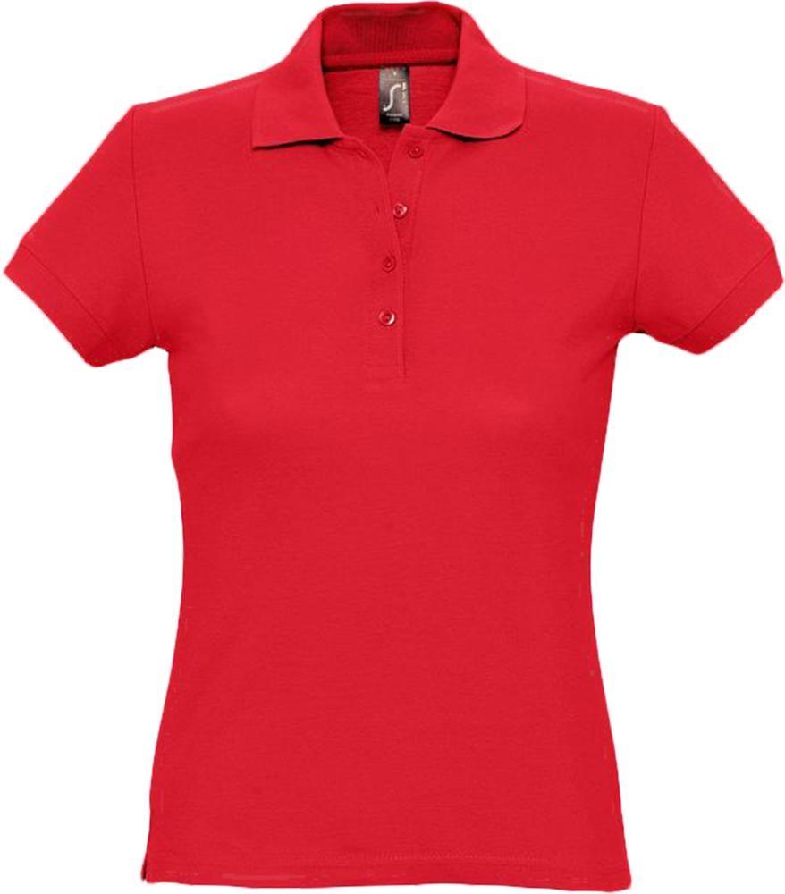 Рубашка поло женская PASSION 170, красная