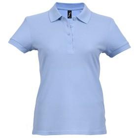 Рубашка поло женская PASSION 170, голубая