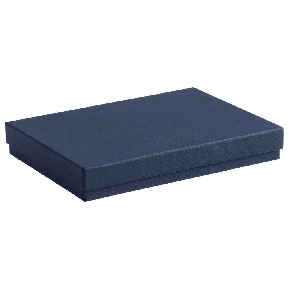 Коробка под ежедневник, синяя