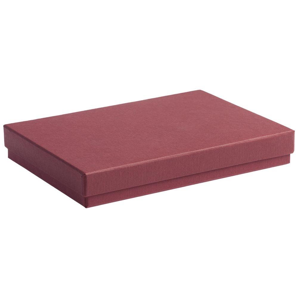 Коробка под ежедневник, бордовая