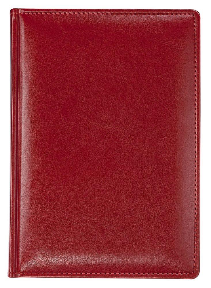 Ежедневник NEBRASKA, недатированный, красный