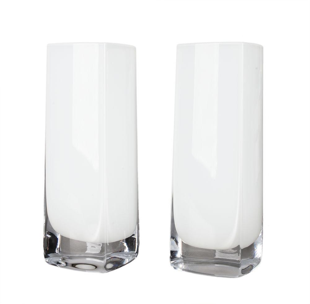 Пара бокалов для виски White long