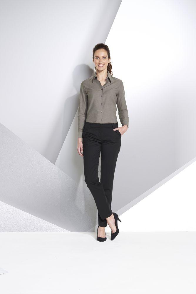 Рубашка женская с длинным рукавом EMBASSY, белая