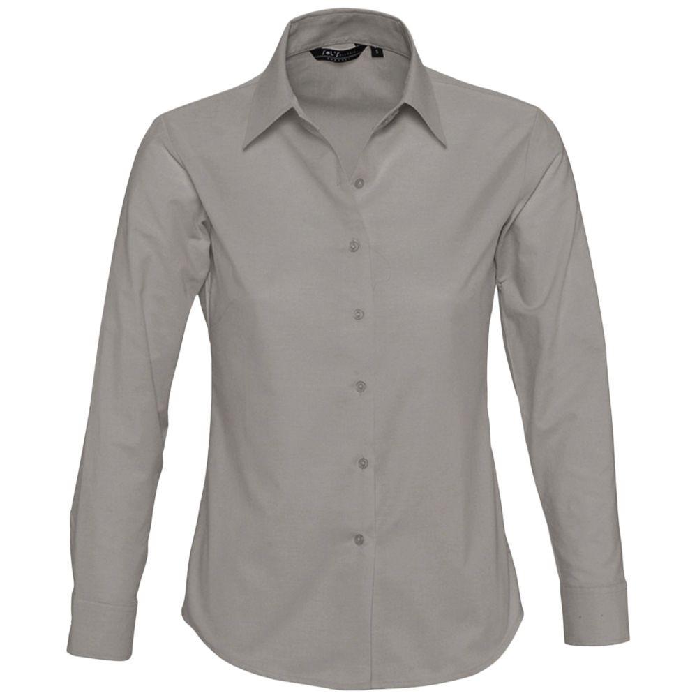 Рубашка женская с длинным рукавом EMBASSY, серая