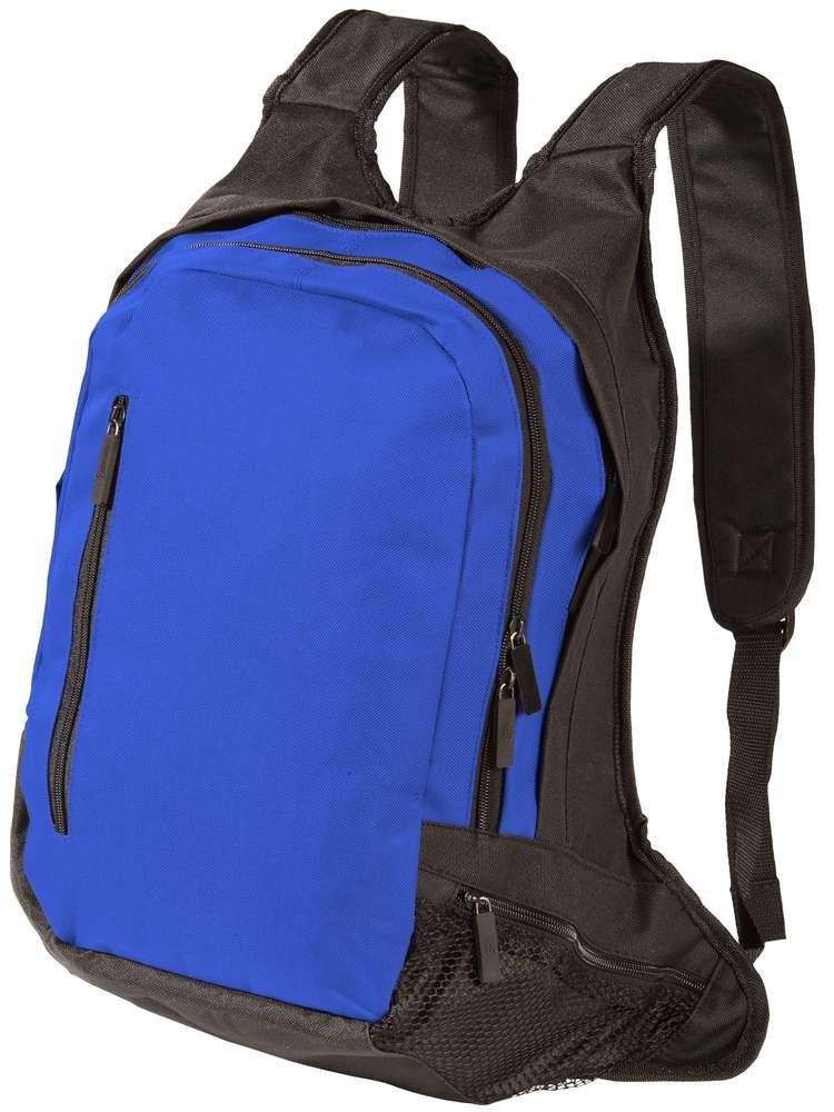 Рюкзак для ноутбука, синий с черным