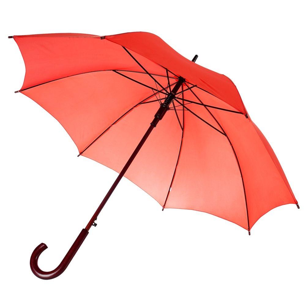Зонт-трость Unit Standard, красный
