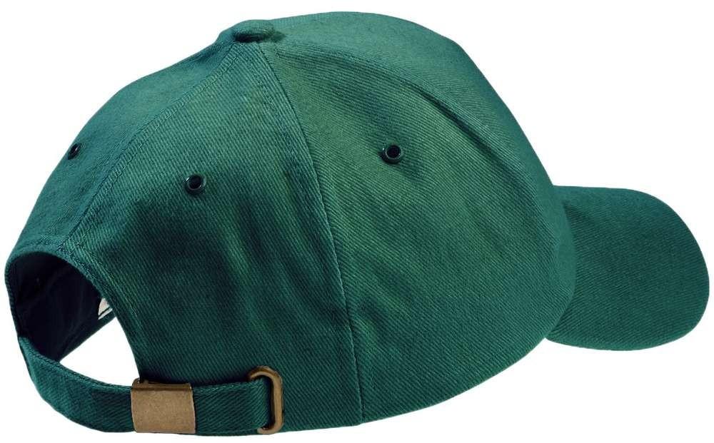 Бейсболка Unit Kids, зеленая