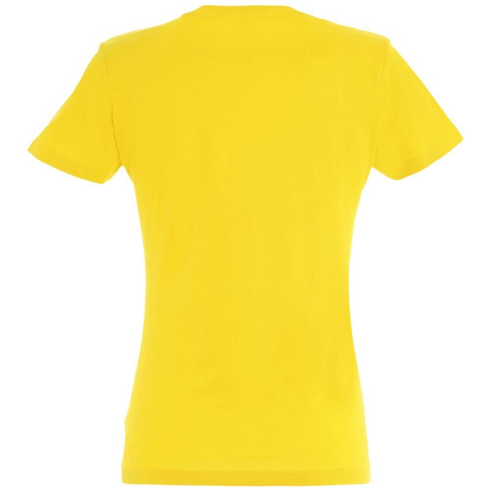 Футболка женская Imperial women 190, желтая
