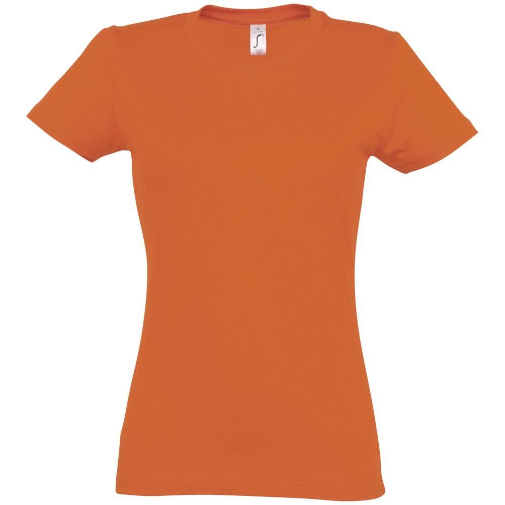 Футболка женская Imperial women 190, оранжевая