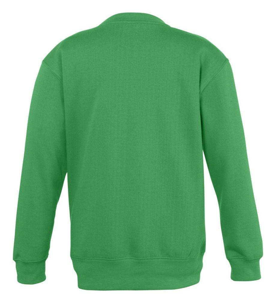 Толстовка детская New Supreme Kids 280, ярко-зеленая