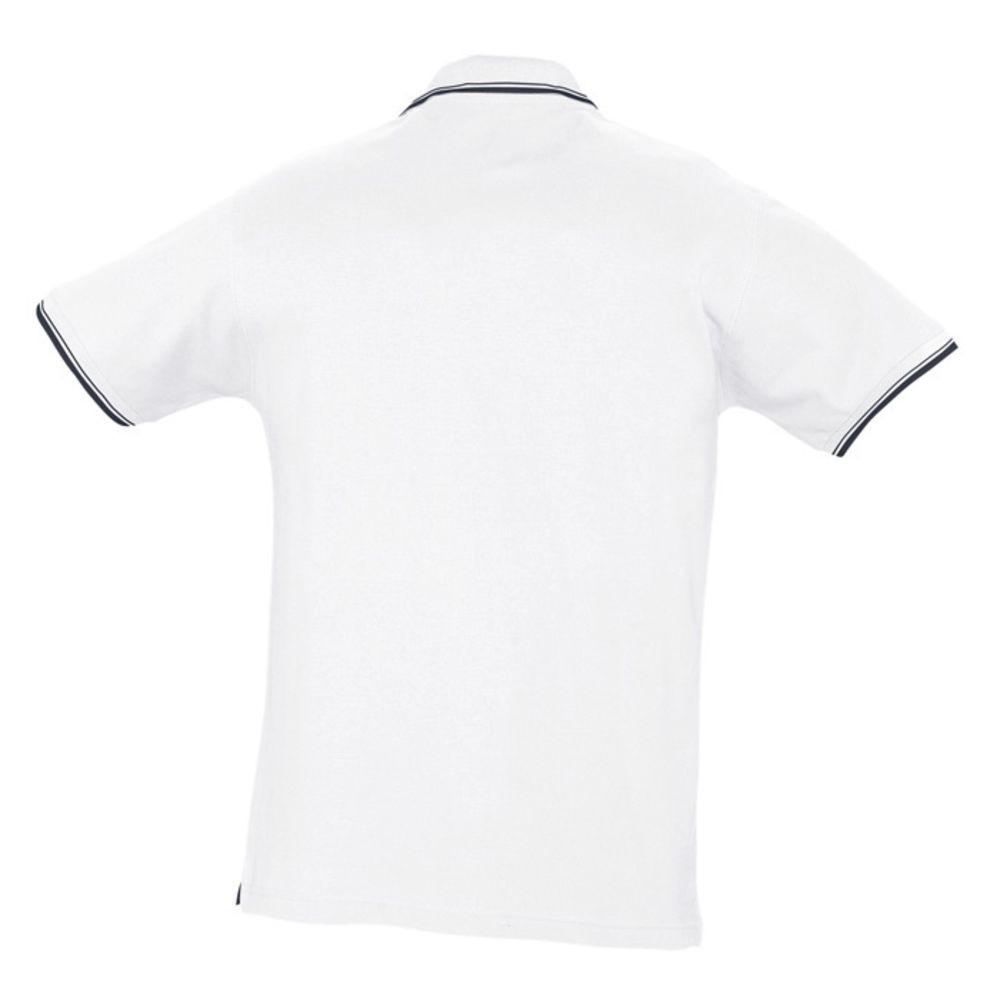 Рубашка поло женская Practice women 270, белая с темно-синим