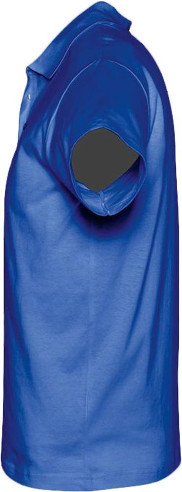 Рубашка поло мужская Prescott men 170, ярко-синяя (royal)