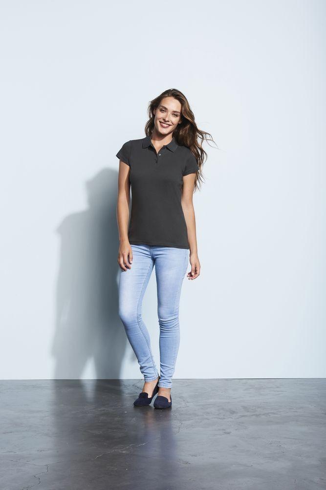 Рубашка поло женская Prescott women 170, черная