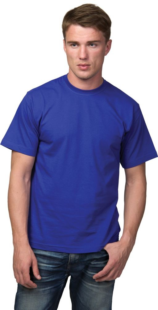 Футболка T-Bolka 160, ярко-синяя