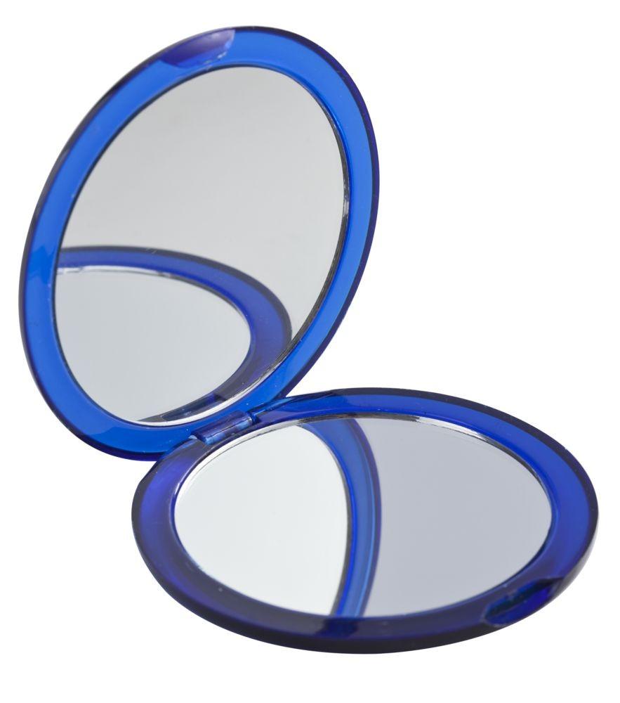 Зеркало Smile круглое, синее
