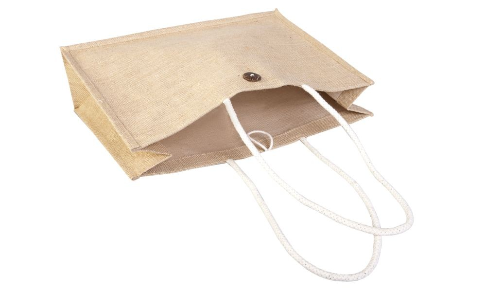 Холщовая сумка на плечо